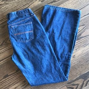 Express hipster flare jeans, size 9 10